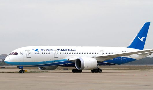 Xiamen B787 aircraft